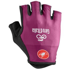 Castelli Giro d'Italia #102 Gloves Unisex ciclamino